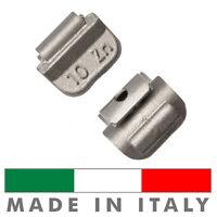 100 X Pesi Equilibratura cerchi ferro da 10g - Contrappesi zinco MADE IN ITALY