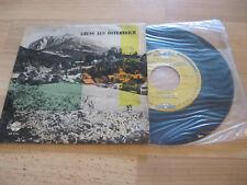"""7"""" Single Various Gruss aus Österreich Freunde der Berge  Vinyl Qualiton EP 7194"""