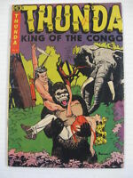 THUNDA #4 VG+ Powell Art!