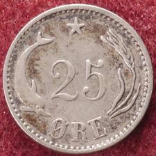 Denmark 25 Ore 1904 (E0102)