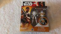 "Star Wars The Force Awakens 3.75"" Figure Armor Up Finn FN-2187 Stormtrooper NEW"