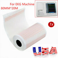 1 rolls Thermal Printer Printing Paper for ECG EKG Electrocardiograph System USA