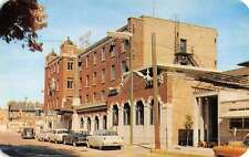 Niles Michigan Four Flags Hotel Street View Vintage Postcard K50895