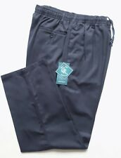 """New Woodbrie Navy Blue Rugby Trousers 44"""" Waist to 58"""" Waist"""
