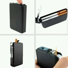 New Double Ejection Cigarette Lighter Case Box Holder Windproof Dispen Liverpool