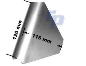 Knotenblech für Überrollkäfig, 120 mm, Stahl, Sicherheitszelle, raceparts cc