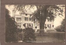 VINTAGE POSTCARD 1938 HENRY VAN DYKE RESIDENCE PRINCETON NEW JERSEY