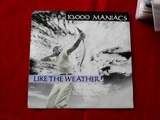10'000 MANIACS~ LIKE THE WEATHER~ RARE PROMO~ NEAR MINT~ ELEKTRA 69418 ~ POP 45