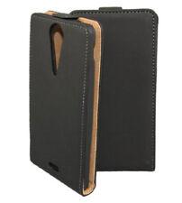 Premium Flip Case Tasche schwarz für Sony xperia TX Hülle Case Etui Schutzcase