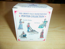 1998 Liberty Falls - Hand Painted Pewter Collection - Ah161