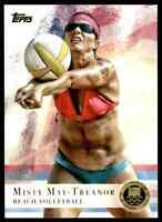 2012 TOPPS OLYMPICS GOLD MISTY MAY-TREANOR BEACH VOLLEYBALL #40 PARALLEL