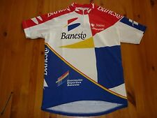 BANESTO CYCLING JERSEY SIZE 5  54cm PIT TO PIT