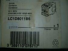 TELEMECANIQUE LC1 D8011 B6  CONTACTOR 24V