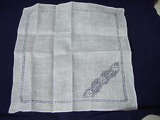 Vintage Irish Linen Handkerchief New In Box