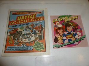 "BATTLE ACTION FORCE Comic - Date 03/11/1984 - Inc Fleetway ""Annual"" Flyer"