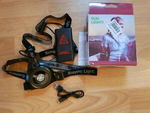 Laufbeleuchtung - Auffladbare USB LED Brustlampe - Warnlicht