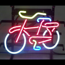 Neon Sign - Fat Tire Bicycle Bike Shop - Mountain Biking Light Lamp