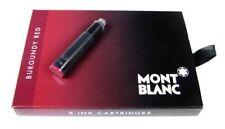 Montblanc 8 Tintenpatronen Burgundy Red