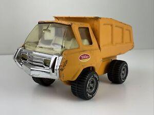 Vintage Tonka Toy Hoot N Hauler Dump Truck Orange 1970s