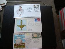 FRANCE  - 3 enveloppes 1er jour 1962/1976/1984 (cy73) french