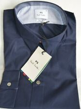 Paul Smith Smart Tailored Fit Navy Blue Long Sleeved Men's Shirt Sizes: M/L/XL