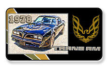 1978 PONTIAC TRANS AM AUTO CAR MAGNET PACKAGE SET OF 4