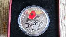 2010 Limited Edition Proof Silver Dollar - Poppy