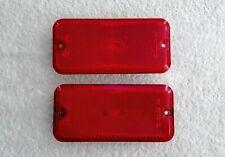 1985-1996 Chevy & GMC Van Body Mounted Rear Side Marker Lights OEM Red