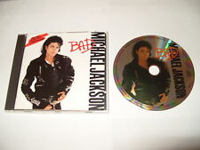 Michael Jackson - Bad  - 1987 -10 track cd picture disc rare cd Ex Condition
