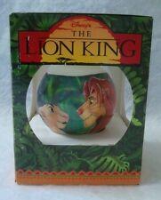 Disney's The Lion King Christmas Ball ornament Simba in Box 1994