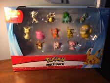 "Pokemon Multi-Pack of 12 Figures 2"" Rare."