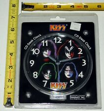 KISS Band 1978 Solo Albums CD Desk Clock 1999 Dingbats SEALED Gene Simmons