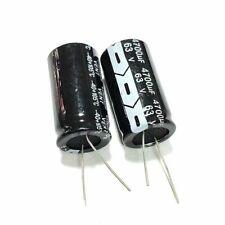 2PCS 63V 4700uF 63Volt 4700MFD 105C Aluminum Electrolytic Capacitor 22×40mm NEW