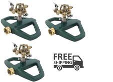 3pcs Impulse Sled Lawn Sprinkler Garden Patio 5675-sq ft Home Watering Plants