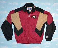 Vintage 90s - NFL Starter Classic SAN FRANCISCO 49ERS - Windbreaker Jacket Y XL