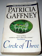 Circle of Three by Patricia Gaffney (2001, Paperback) (Used)