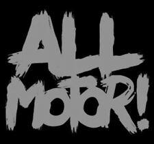 All Motor Vinyl Decal | Silver