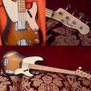 Fender Bass Precision '55 Custom Shop NOS 2003 Sunburst