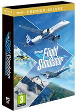Microsoft Flight Simulator 2020 Premium Deluxe Edition PC DVD ~ NEW SEALED ~