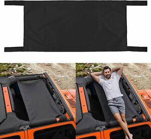 Car Roof Hammock Car Bed Rest Load-220LB For 1987-2018 Jeep Wrangler YJ TJ JK JL