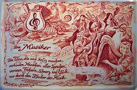 Beruf Musiker Musikerin Blechschild Schild Blech Metall Tin Sign 20 x 30 cm