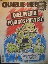 CHARLIE HEBDO N° 720 CHIRAC QUEL AVENIR POUR NOS ENFANTS ? PAR CABU 5 AVRIL 2006