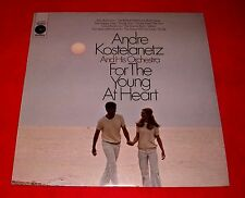 Mint sealed Columbia lp ANDRE KOSTELANETZ for the YOUNG AT HEART
