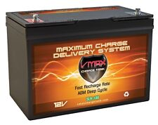 VMAX SLR100 12V 100ah AGM Rechargeable Battery for Dual-Lite Backup