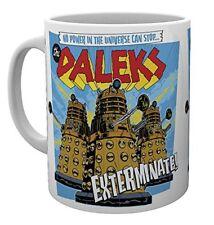 Doctor Who Daleks Dr Who TV Sci Fi Cup Tea Coffee Mug Mugs
