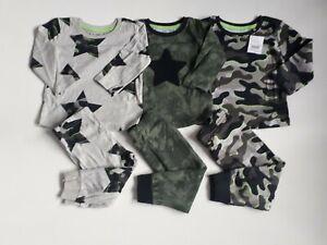 BNWT BABY BOYS NEXT PYJAMAS X 3 PACK SIZE 9-12 MONTHS ~ REF BOX A55