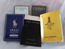 JOHN VARVATOS ETERNITY AIR ETERNITY FOR MEN POLO BLUE PACO RABANNE VIAL LOT