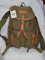 World famous 19 inches vintage rucksack color olive drab 31 ltr ( ref#bte37 )