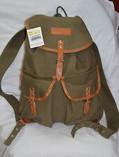 World famous 19 inches vintage rucksack color olive drab 31 ltr ( ref#bte37 )