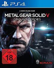 Metallo Gear Solid V Ground Ground Zero USATO ps4 gioco - #2000